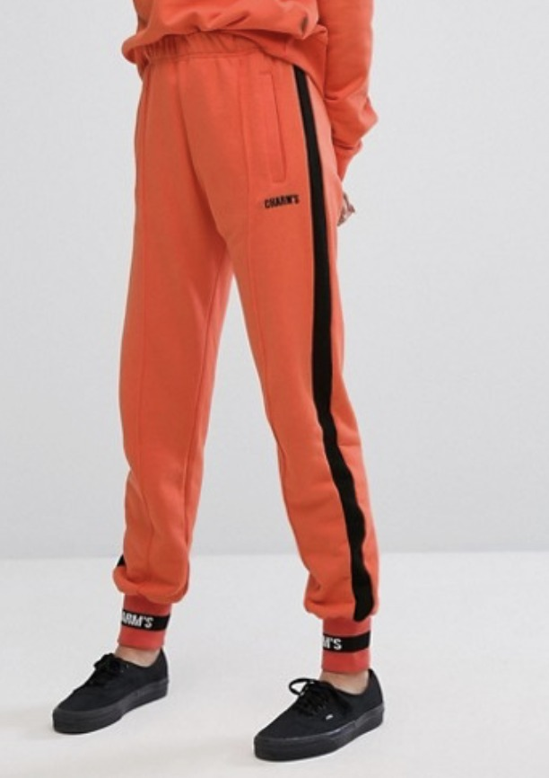 Charms Tracksuit Bottoms With Logo Co-Ord