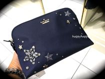 【kate spade】日本未入荷☆シベリア冬の星空・コスメポーチ