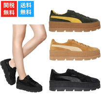 大注目 PUMAxFENTY 40MM CLEATED CREEPER 厚底 スニーカー