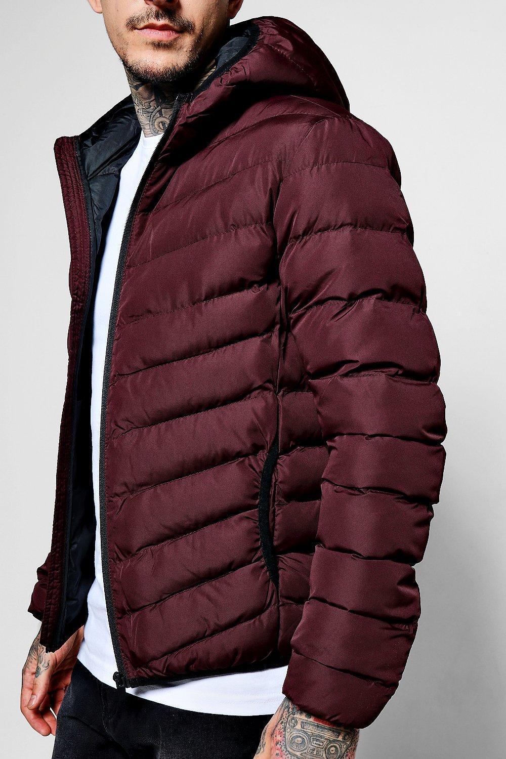 関税、送料込 Quilted Zip Through Jacket With Hood アウター