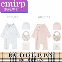 BURBERRY★BABY★ロンパース★ハット★スタイ★3点セット