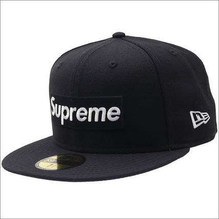 7 3/4 8サイズ 17SS Supreme Playboy Box Logo New Era Cap 黒