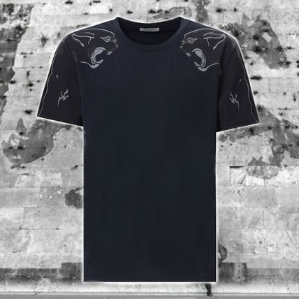 **VALENTINO** PANTHER SHOULDER パンサー PRINT T-SHIRT