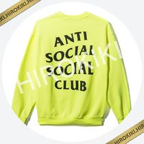 Anti Social Social Club  I THOUGHT CREWNECK ASSC Yellow Lime