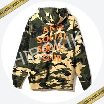 Anti Social Social Club Sixth St. Hoodie ASSC Yellow Camo