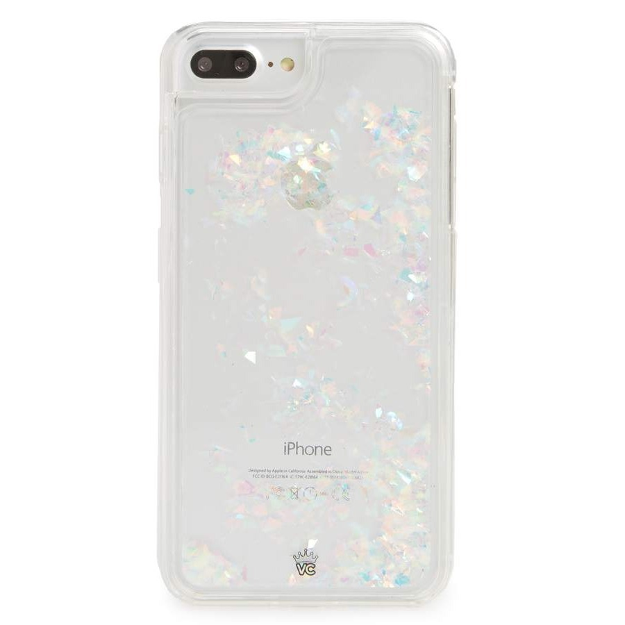 ベルベットキャビア Flakes Floating iPhone 7/8 Case