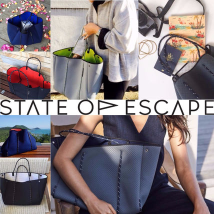 State of Escape ネオプレン トートバッグ デュアルトーン 7色