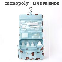 monopoly×LINE FRIENDS★TOILETRY POUCH《追跡付》
