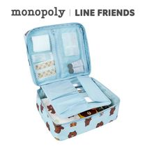monopoly×LINE FRIENDS★GRAND MULTI POUCH《追跡付》