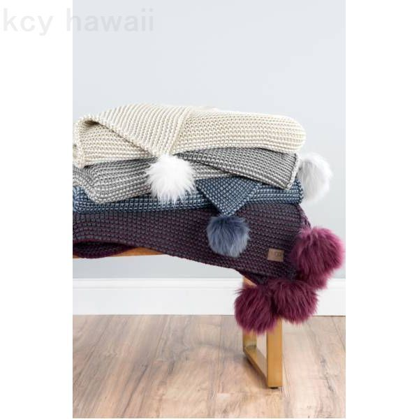 UGG アグ☆SNOW CREEK TWO COLOR THROW