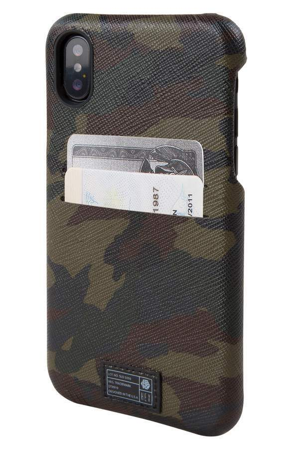 ヘックス Solo iPhone X Wallet Case