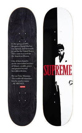 Supreme(シュプリーム)   Scarface Split Skateboard