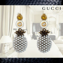 【Gucci】グッチ★Pineapple earrings with crystalsイヤリング