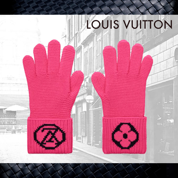 【Louis Vuitton】ルイヴィトン★Lv College Gloves★手袋