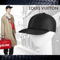 【Louis Vuitton】ルイヴィトン★Leather Cap★キャップ