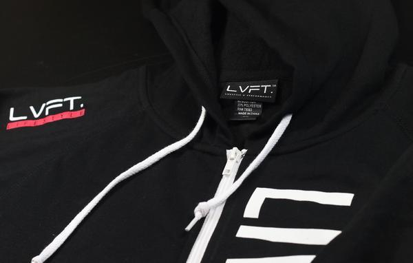 【Live Fit】 ロゴパーカー フーディー Live Fit Zip Up