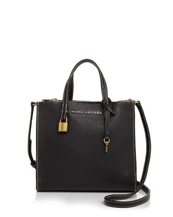 MARC JACOBS☆The Mini Grind Leather Crossbodyトート