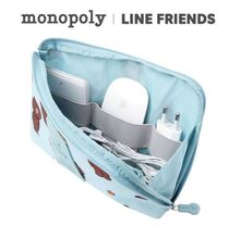 monopoly×LINE FRIENDS★CABLE POUCH(L)《追跡付》