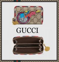 【17-18AW 完売必至!】 GUCCI★Courrier カード&コインケース