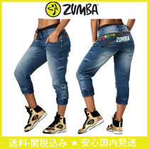 【送料関税込】ZUMBA☆La Pachanga Zippered Denim Pants