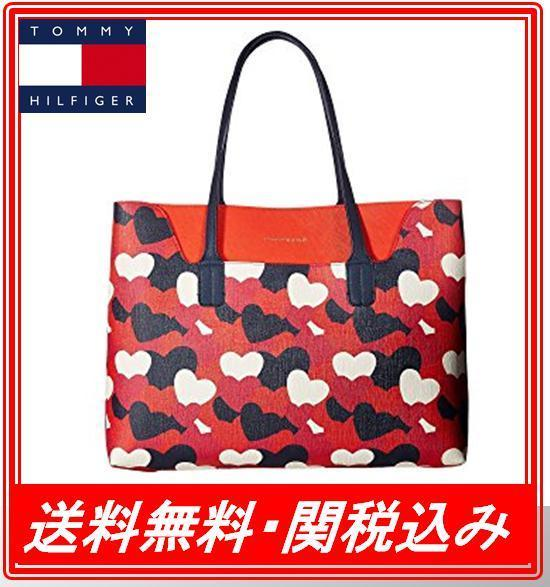 関税.送料込 Tommy Hilfiger Adamaria Tote Double Sided