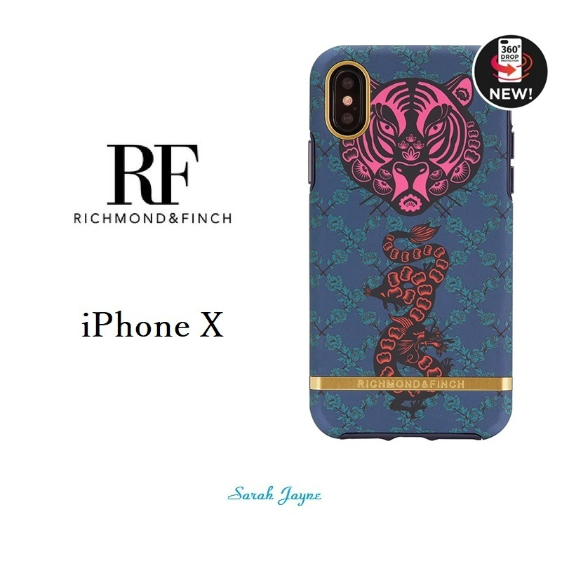 RICHIMOND&FINCH☆ iPhoneケース ☆TIGER & DRAGON iPhoneX