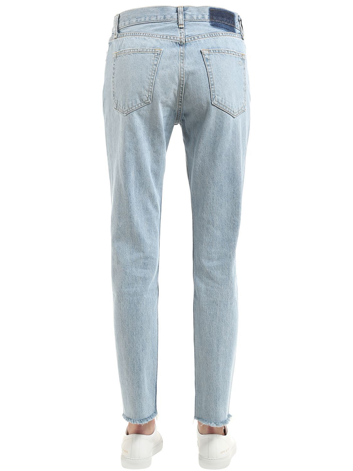 ラグアンドボーン MARILYN DISTRESSED COTTON DENIM JEANS