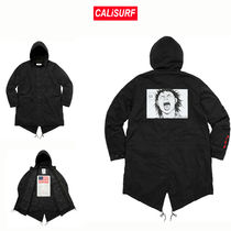 コラボ☆Supreme x AKIRA Fishtail Parka -BLACK /M-XLサイズ