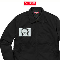 コラボ☆Supreme x AKIRA Work Jacket -BLACK /M-XLサイズ