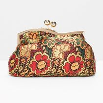 """""""& Other Stories""""Bloom Jacquard Clutch"""