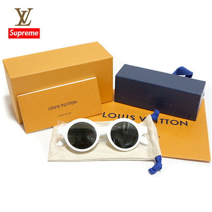 Louis Vuitton x Supreme Downtown Sunglasses サングラス White