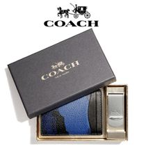 COACH  3-IN-1 迷彩柄 カードケース&マネークリップ セット