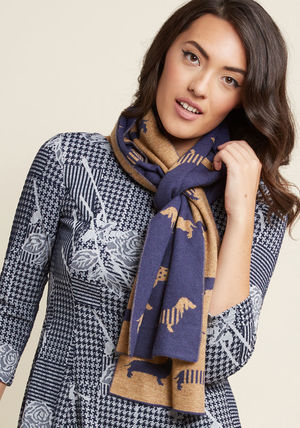 Animal Lover wag, you're it! scarf