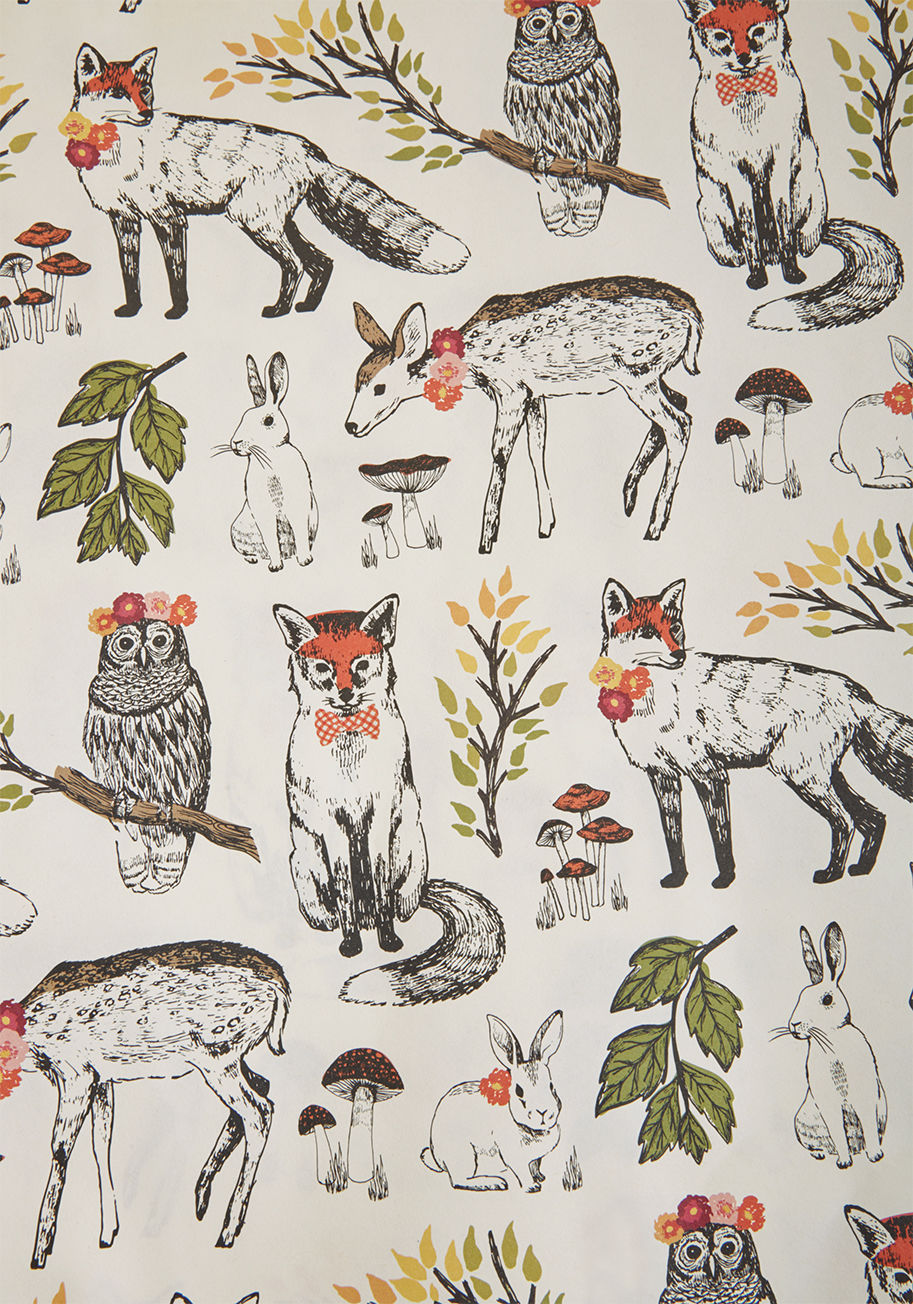 Animal Lover paper source wild the gettin's good wrapping