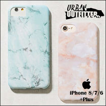 Urban Outfitters☆ 綺麗マーブル色 iPhoneケース (6/7/8+Plus)