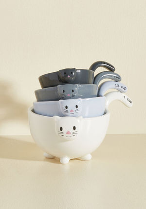 Animal Lover meow for measuring cups
