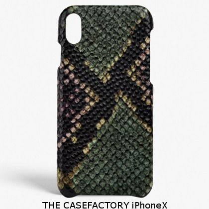THE CASE FACTORY iPhone・スマホケース 関税送料込☆THE CASEFACTORY☆iPhone X PYTHONマルチカラー