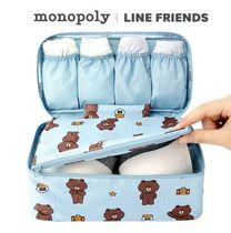 monopoly(モノポリー) トラベルポーチ monopoly×LINE FRIENDS★UNDERWEAR POUCH《追跡付》