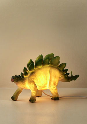 Animal Lover sight for saur eyes lamp in stegosaurus