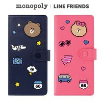 monopoly×LINE FRIENDS★ NO SKIMMING PASSPORT《追跡付》