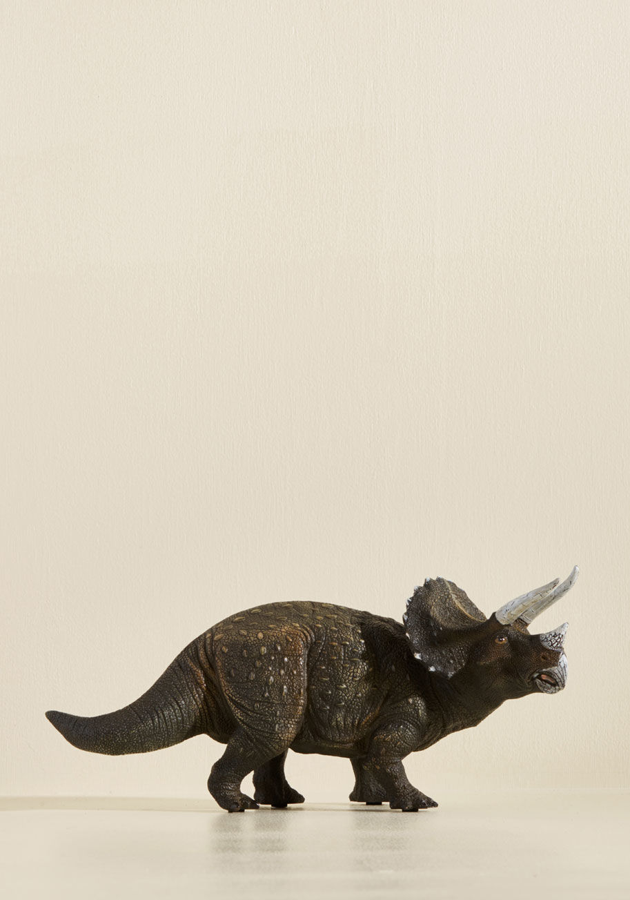 Animal Lover sight for saur eyes lamp in triceratops