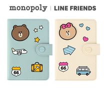 monopoly×LINE FRIENDS★ MINI NO SKIMMING PASSPORT《追跡付》