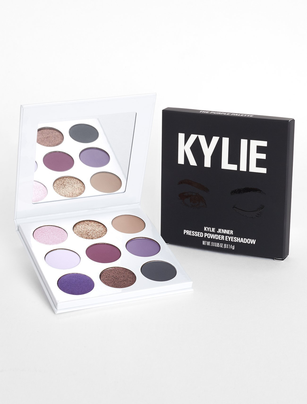 KYLIE COSMETICS 大人気 THE PURPLE PALETTE KYSHADOW 送料込