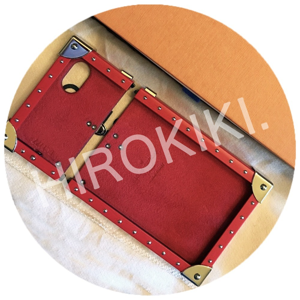 iPhone 7 Plus★Louis Vuitton Supreme Eye Trunk トランク Epi