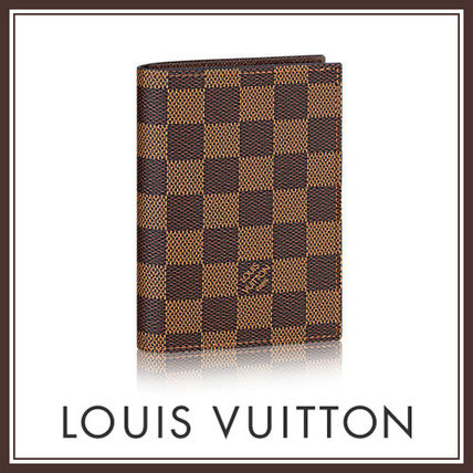 LOUIS VUITTON 国内発 クーヴェルテュール・パスポールNM ダミエ