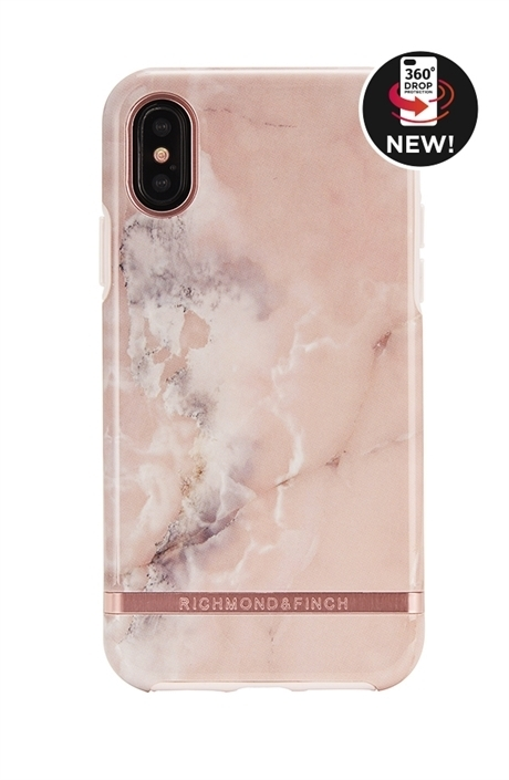 RICHIMOND&FINCH☆ iPhoneケース☆PINK MARBLE iPhoneX