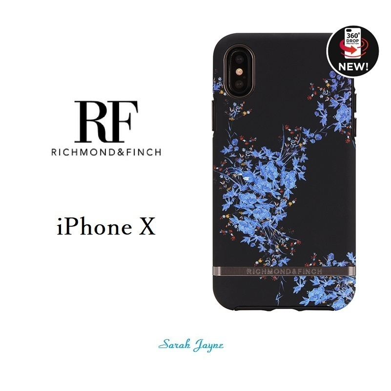 RICHIMOND&FINCH☆ iPhoneケース☆MIDNIGHT BLOSSOM iPhone
