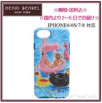 国内即発☆関送込☆Henri Bendel Flamingo☆iPhone6/6S/7ケース