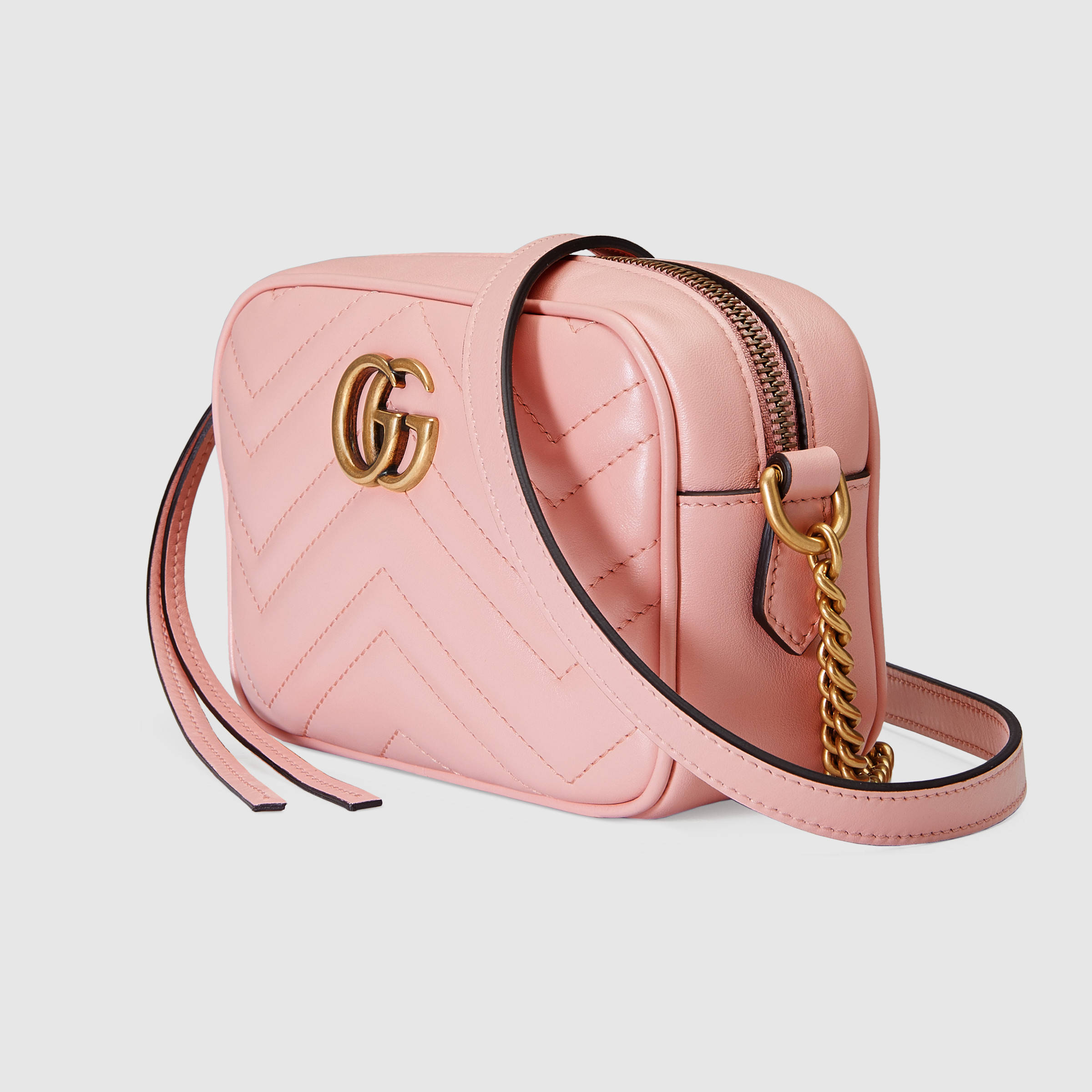 【グッチ】Gg Marmont Matelass? Mini Bag ショルダー