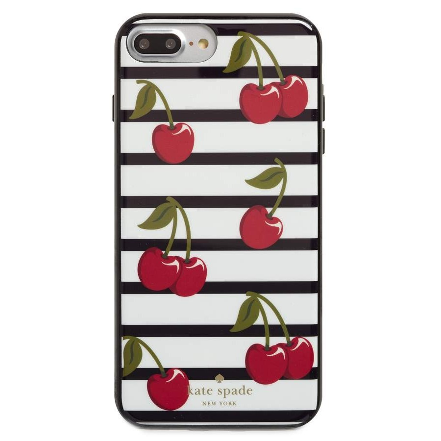 ケイトスペード cherry stripe iPhone 7/8 & 7/8 Plus case